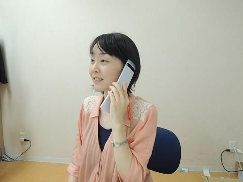 ①アポ電話